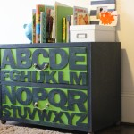 Thrifted ABC NightStand Makeover