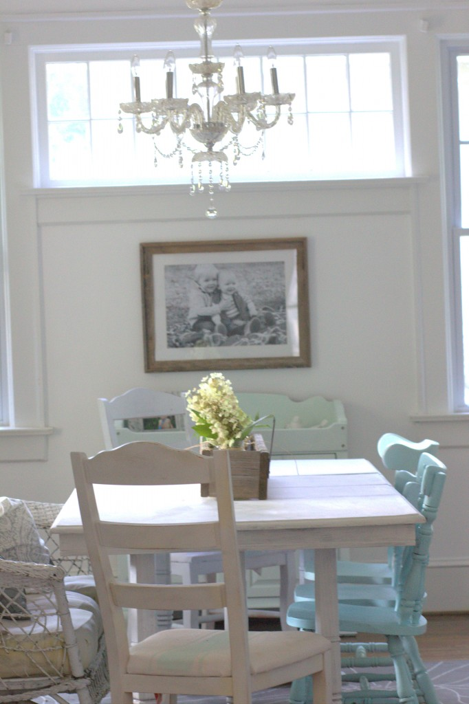 Entirely Thrifted Dining Room