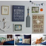 Eclectic Boys Gallery Wall