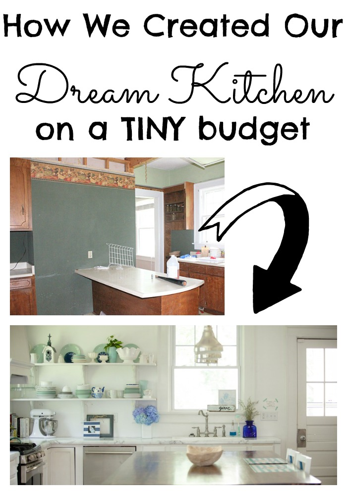 5 Dream Kitchen Must Haves: White Dream Kitchen {On A $5K Budget}