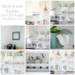 White Dream Kitchen {On a $5K Budget} – The Source List