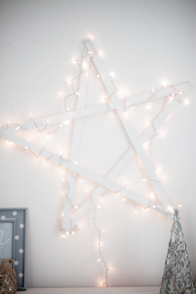 DIY Yardstick Star