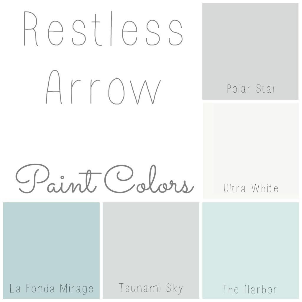 Restless Arrow Paint Colors