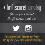 Thrift Score Thursday {Guest Post} and a DIY Canvas