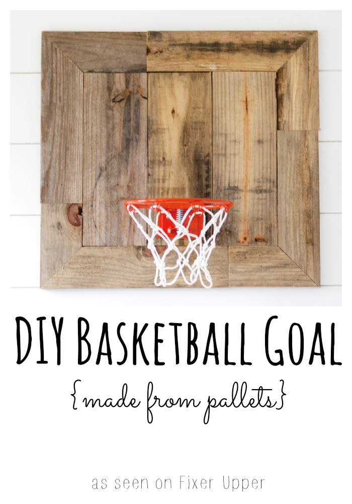 DIY Basketball Goal