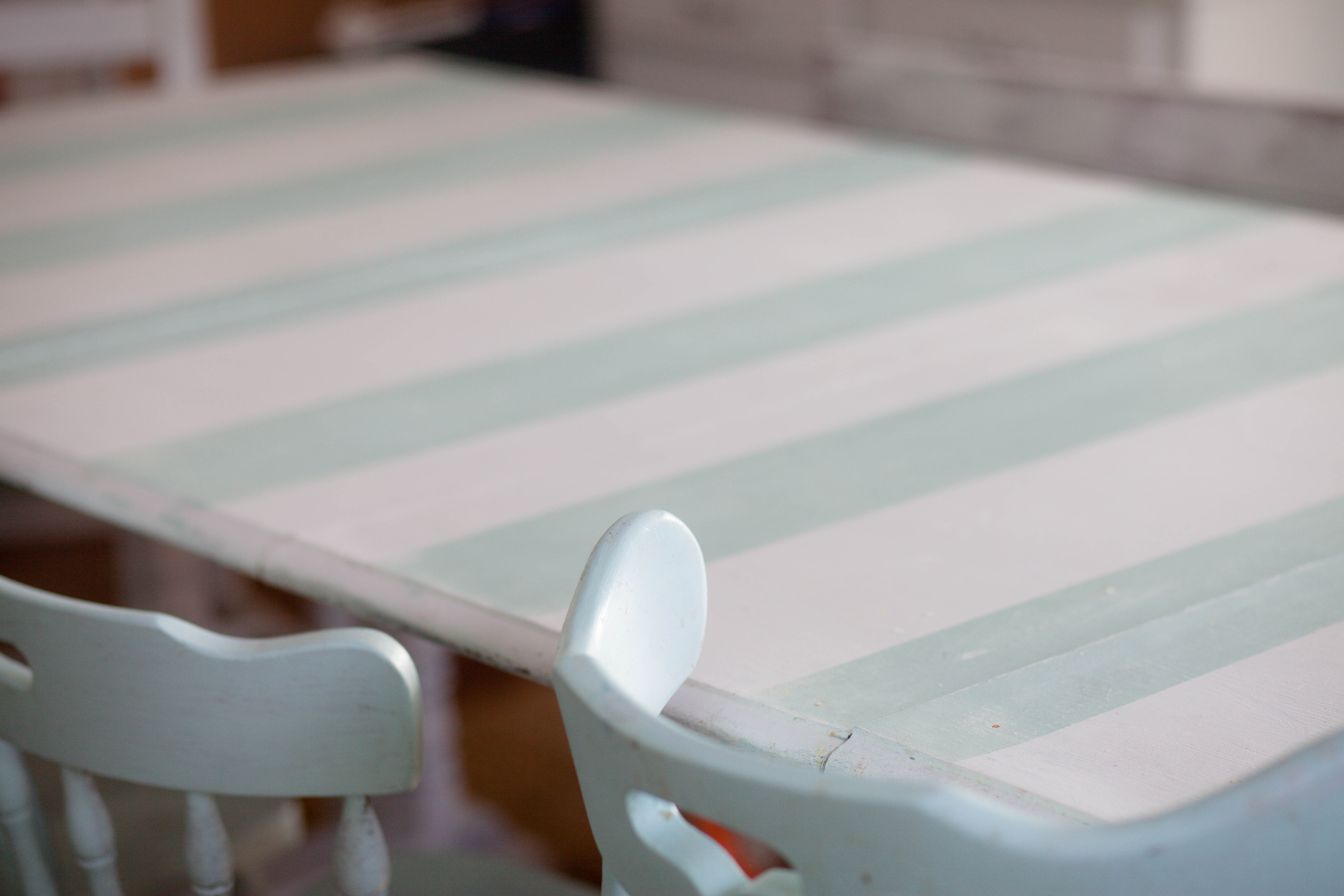 Striped Dining Room Table (3 of 6)