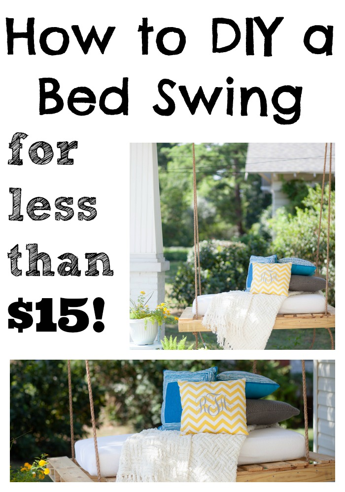 DIY Bed Swing