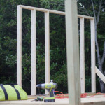 Constructing the Treehouse {Framing the Walls}