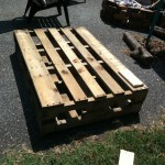 DIY Outdoor Pallet Bar