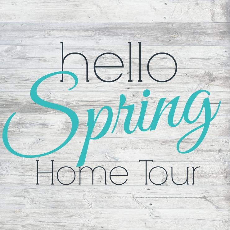 hello spring home tour square