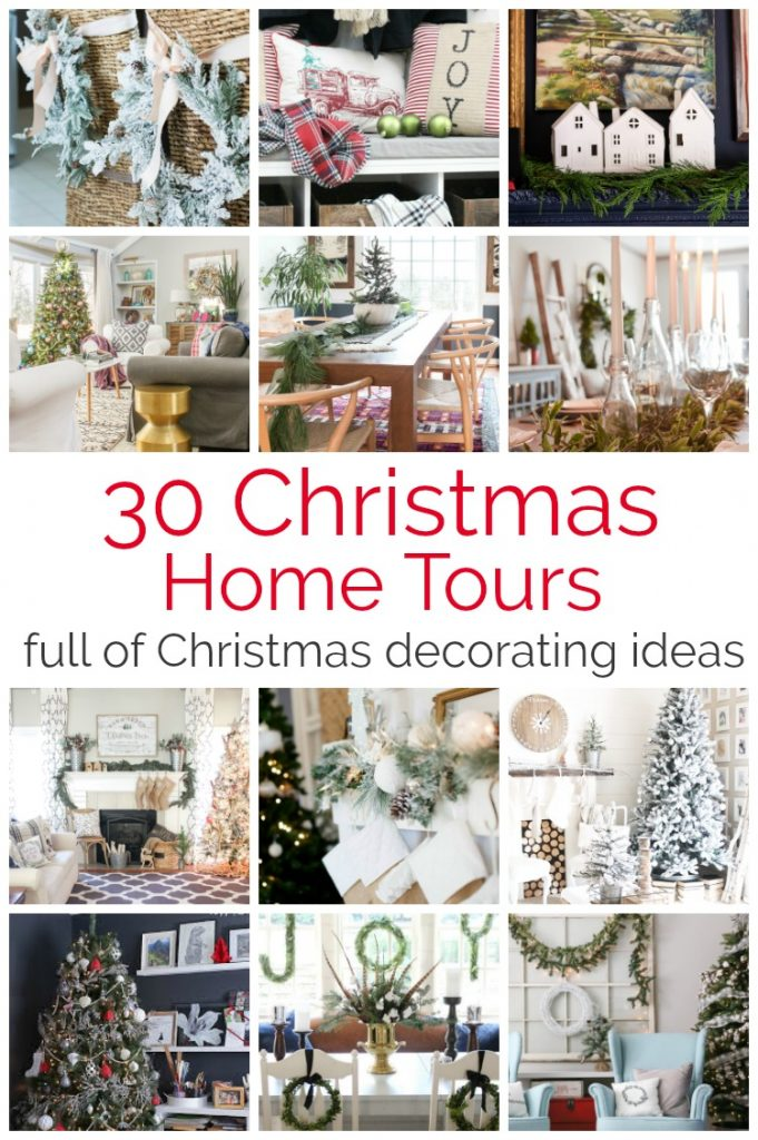 30 Christmas home tours full of Christmas decorating ideas