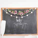 DIY Thrifted Garland Makeover