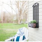 DIY Flower Trellis {from an old baby gate!}