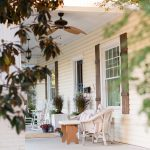 Fall Porch with a Hint of Pink {Seasonal Simplicity}